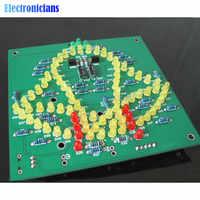 Wobbly Windbell Fun Electronic DIY Kit Wring 83 LEDs Wind bell 5V 9V 92*89MM