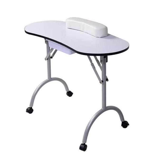 Online Shop Portable Manicure Nail Table Station Desk Spa Beauty ...