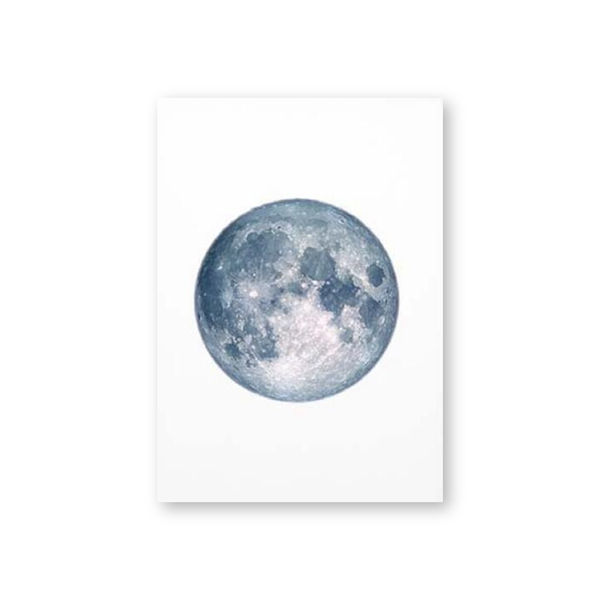 Moon-Phases-Poster-Print-Full-Moon-Half-Moon-Wall-Art-Canvas-Painting-Night-Sky-Space-Galaxy (7)