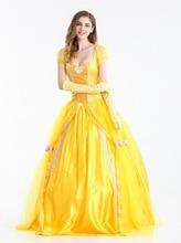 цена Snow White Princess Costume Fantasias Feminina Princess Cosplay в интернет-магазинах
