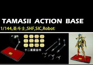 Image 2 - Soul Of Gold EX BracketสำหรับSTAGE ActionประเภทการสนับสนุนชุดSHFหุ่นยนต์SOG Saint Seiyaรูปของเล่น
