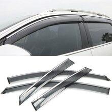 Для peugeot 3008 3008 GT-, автомобильный Стайлинг, оконный козырек, вентиляционный козырек, защита от дождя/солнца/ветра, 4 шт., автомобильные аксессуары