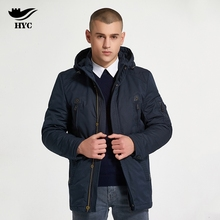 HAI YU CHENG Winter Jacket Mens Outwear Jacket Waterproof Men`s Windbreaker Autumn 2017 Long Jackets Male Coat(China)