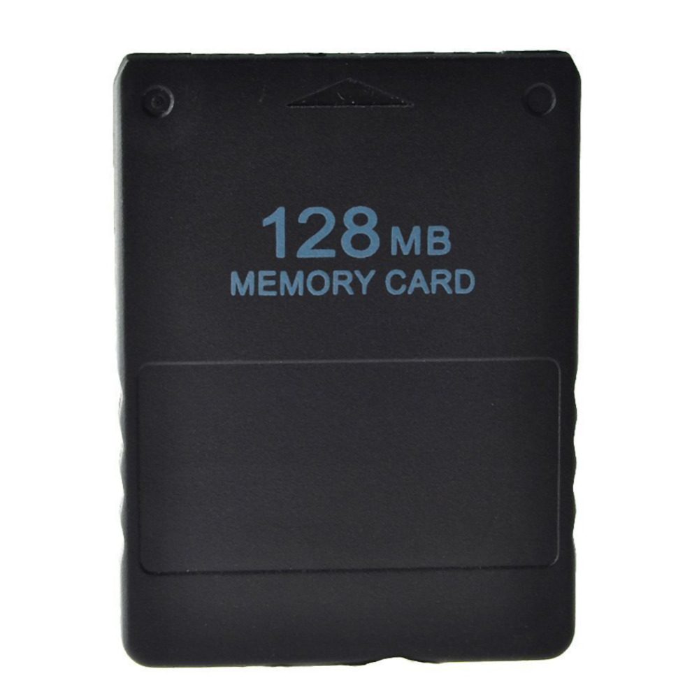 128 MB Memory Card Storage Space Memory Card Save Game Data Unit Data Stick for Sony PS2 Console Video High Quality