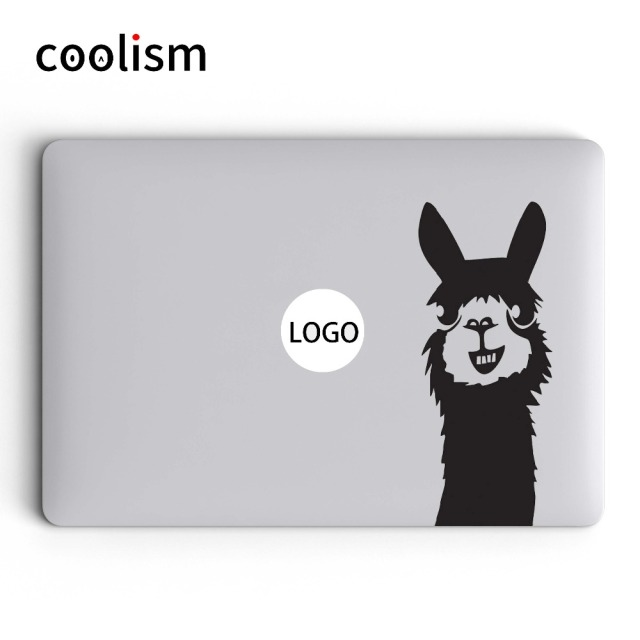 Cute llama laptop sticker for macbook decal 13 pro air retina 11 12 15 6 inch mac