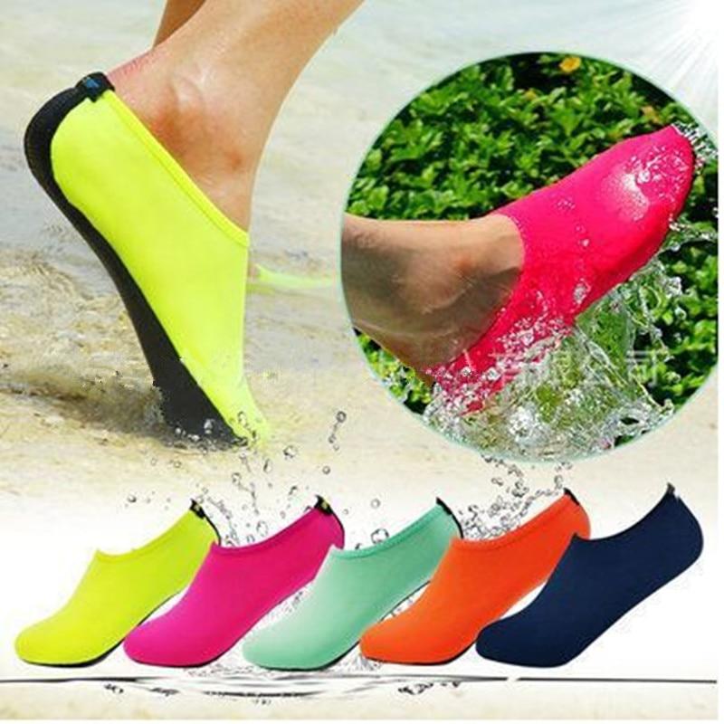 mwsc лето 2017 г. новый женщин сапоги для женщин водонепроницаемая обувь направляющие Аква шлёпанцы для женщин для пляжа слипоны аквапарк сандалии для девочек sandalias женщин
