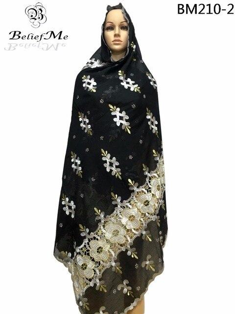 57b225c40305 2019 Nouvelle écharpe Net broderie femmes écharpe Africaine avec des  pierres, design agréable Femmes Coton