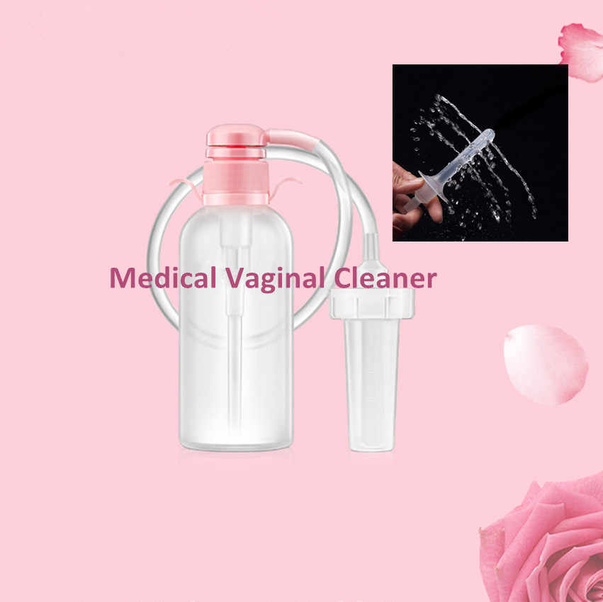 Grande 350 ML Medico Lavaggio Vaginale Douche Vaginale Cleaner per Le Donne La Vagina Pulita Dispositivo Sex Health Care