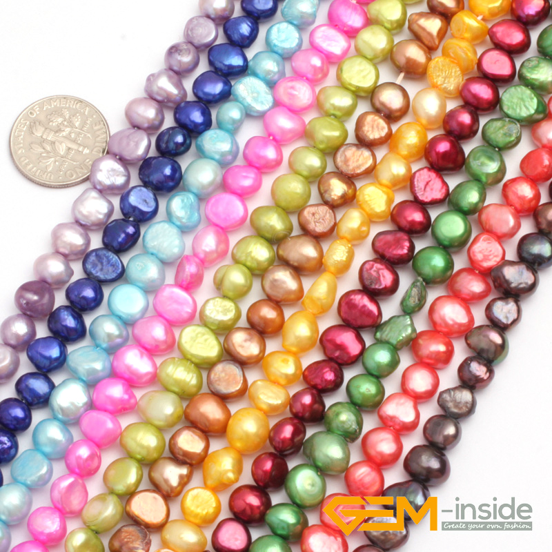 100pcs couleurs mélangées 8 mm Dos plat Demi-Rond en Résine Perles Scrapbook Craft Gems