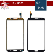 10pcs/lot For Samsung Galaxy Mega 6.3 GT-I9200 i9200 GT-I9205 i9205 Touch Screen Digitizer Sensor Front Glass Lens Replacement for samsung galaxy mega 6 3 i9200 i9205 i527 lcd display touch glass digitizer assembly