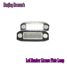 Ксенон Белый 18SMD LED Номерной знак Лампа для Volvo C30 s40/v50 s60 s80 v70 cx70 cx60 cx90 12 В автомобиля номерной знак свет