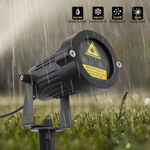 레이저 프로젝터 별 조명 크리스마스 레드 그린 정적 반짝임 원격 방수 야외 정원 샤워 트리 장식