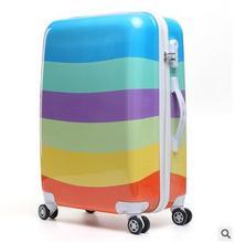 Frauen Reisegepäck Fall Spinner koffer Reise Roll Fall Auf Rädern 20 24 Zoll Dame Reise Rädern Koffer trolley
