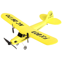 FX FX803  2CH 2.4G Aircraft Glider Airplane Kid Toys with Transmitter Yellow