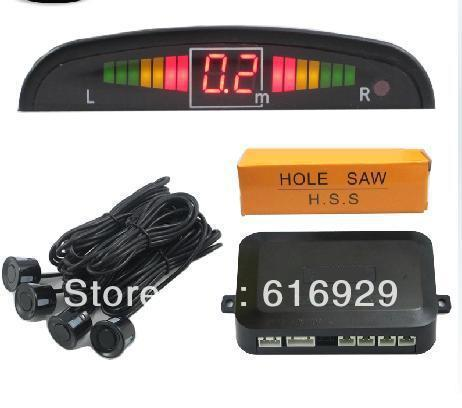 LED Display Wired Parking Sensor Car Reverse Backup Rada Sensor Indicator Car Reverse Radar Kit Parking sensor