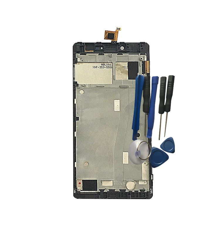 BINYEAE For keneksi Helios LCD Display With Touch Screen With Frame Digitizer Assembly Replacement