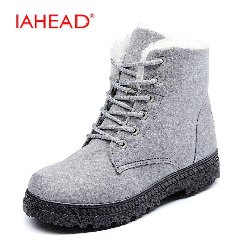 80cd99e990b88e Vente Femmes Chaussures nouvelle Marque femmes hiver bottes de neige chaude  bottes de mode talons cheville bottes pour femmes chaussures chuteira  UPA335 1 ...