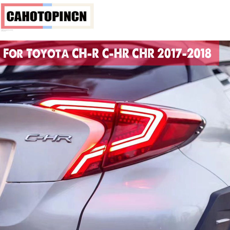 Car styling Tail Lights For Toyota CH R C HR CHR 2017 2018 Led Tail Lights