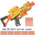 Pistola de Juguete Eléctrico de juguete Pistola de Bala Un Funcionamiento de Fuego pistola de Bala Suave Pistola de Juguete Para Niños de Los Niños