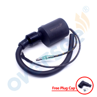 3C7 06040 Ignition Coil For Tohatsu Outboard Motor Parts 2 Stroke 40HP 70HP 115HP 3C7 06040 0 NS40D2 M115A 3C7 06050