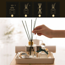 100pcs/Lot Black Aromatherapy Stick Rattan Reed Fragrance Oil Diffuser Replacement Refill Sticks Party Home Bathrooms Decor цены