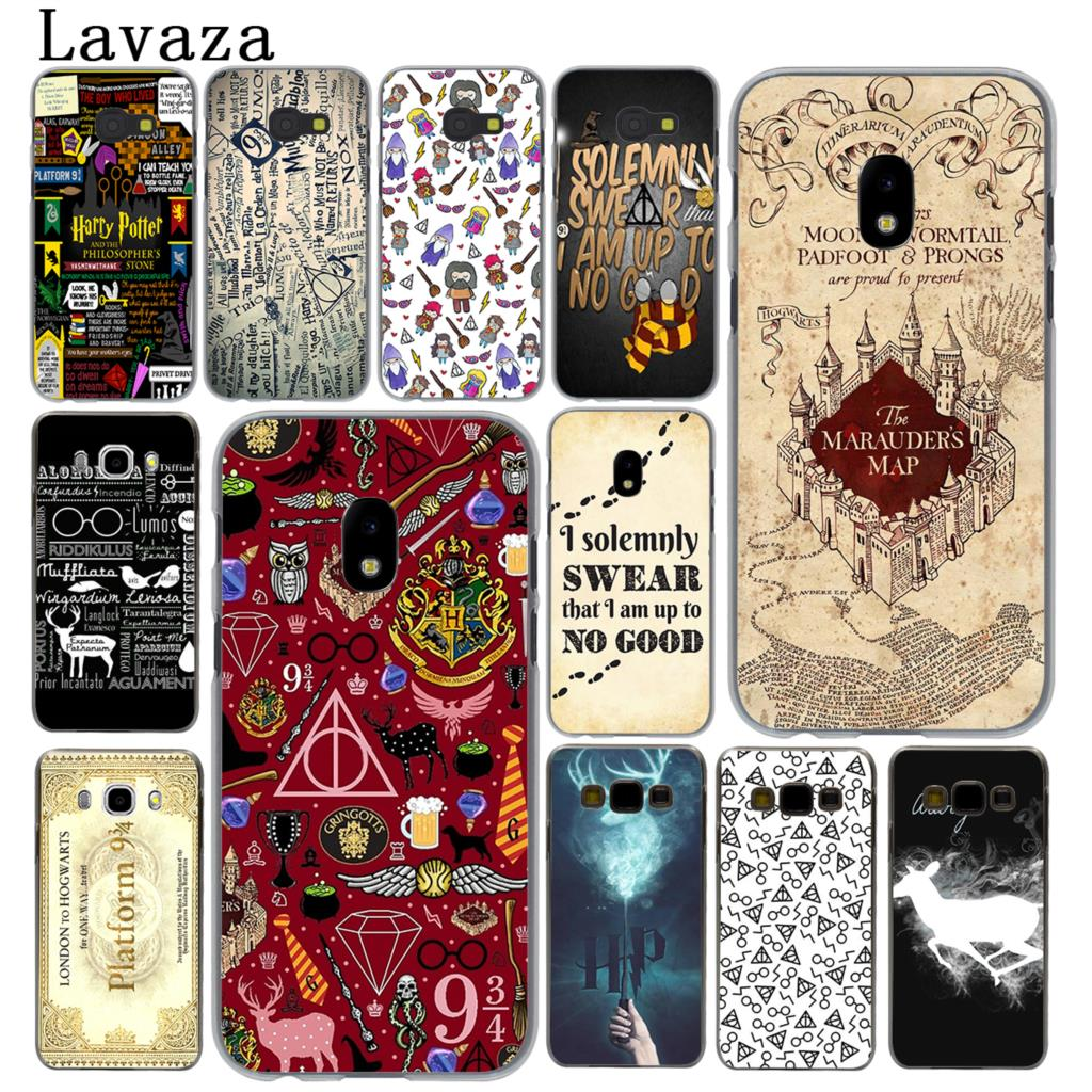 Lavaza Harry Potter Deathly Hallows Hard Phone Case for Samsung Galaxy J5 J1 J2 J3 J7 2017 2016 2015 2018 J3 J5 Prime Cover
