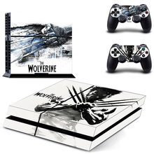 X-Men Origins Wolverine PS4 Skin Sticker Decal Vinyl for Sony Playstation 4 Console and Controllers PS4 Skin Sticker