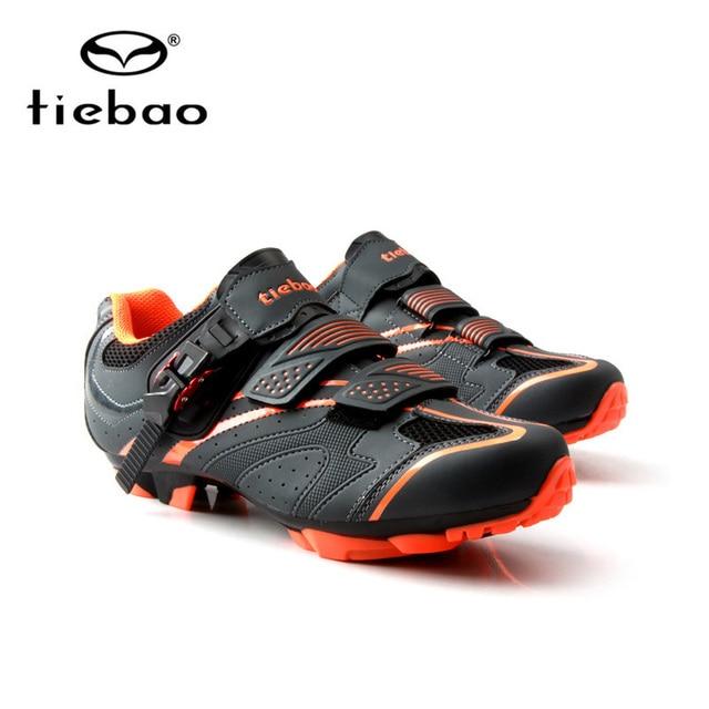 Tiebao Ciclismo Sapatos sapatilha ciclismo mtb Homens Das sapatilhas Das Mulheres sapatos de mountain bike Auto-Bloqueio originais de superstar Sapatos de Bicicleta 4