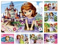 40 pieces The animated cartoon Sofia princess puzzle paper children baby toys gifts( 21*28cm)