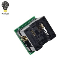 Wavgat SOIC8 SOP8 Om DIP8 Wide-Body Zetel Wide 200mil Programmer Adapter Socket Blauw(China)