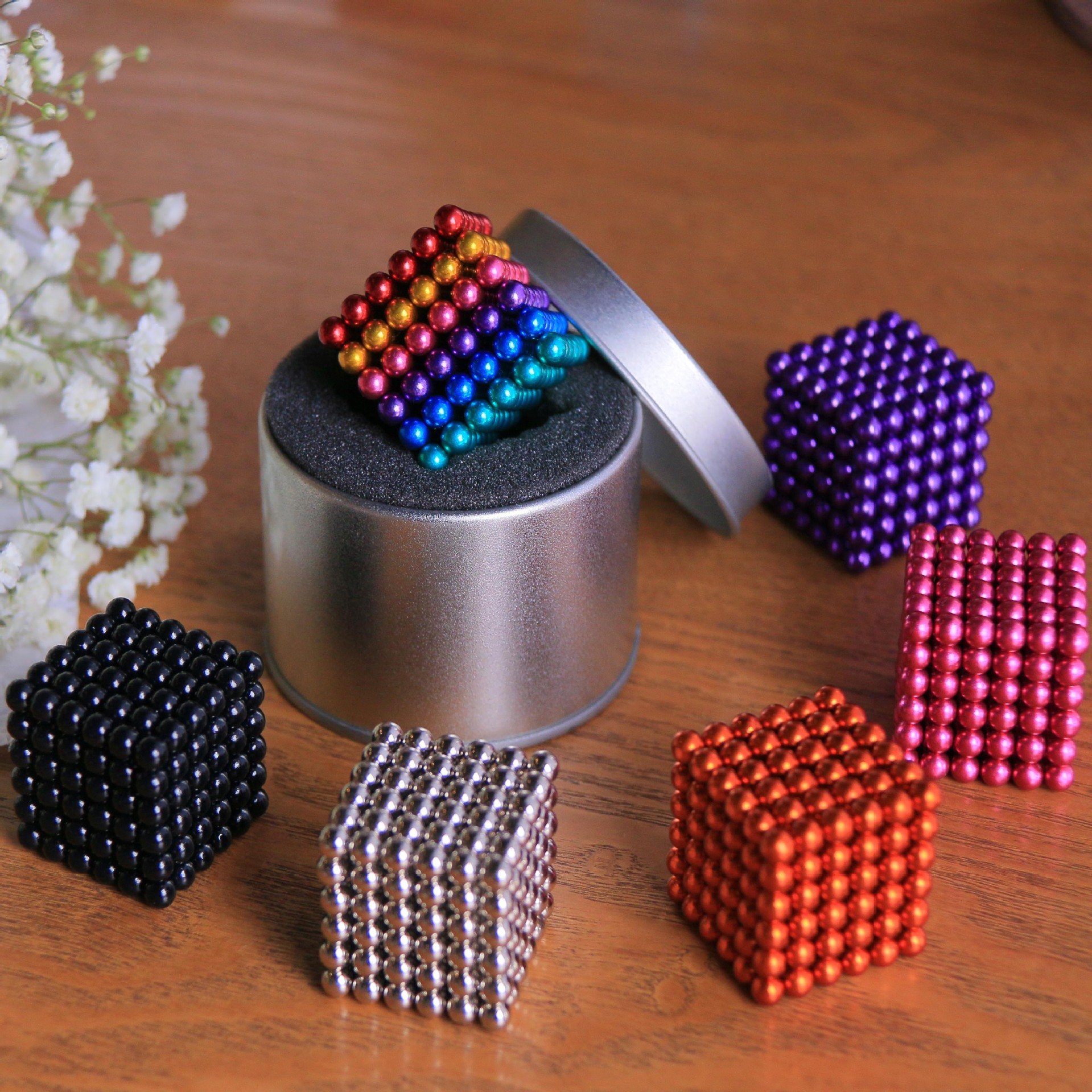 5mm 216pcs Rubiks Cube