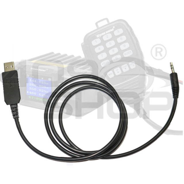 409shop USB PROGRAMMING CABLE FOR SURECOM S-KT8900D kt-8900D MINI MOBILE RADIO