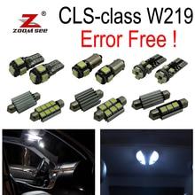 27 шт. светодио дный интерьер купола лампы полный комплект + Парковка city лампы для Mercedes-Benz CLS W219 C219 CLS280 CLS300 CLS350 CLS550 CLS55AMG