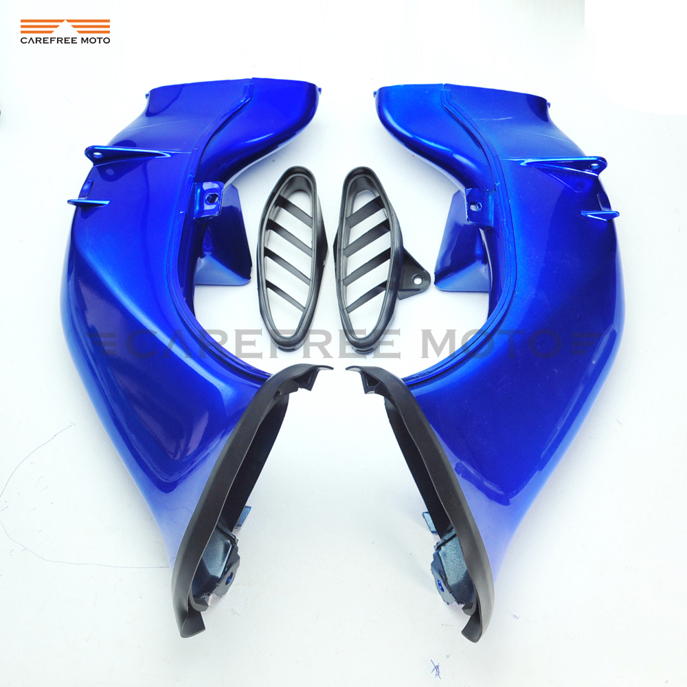 1 Pair Motorcycle Ram Air Intake Tube Duct Moto Intake pipeline case for YAMAHA YZF R1 2004 2005 2006 new motorcycle ram air intake tube duct for suzuki gsxr600 gsxr750 2006 2007 k6 abs plastic black