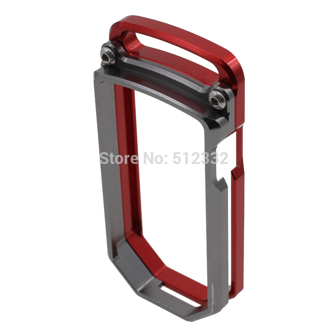 New Style Motorcycle Accessories model Red CNC Key Remote Cover Case Chain For DUCATI DIAVEL MULTISTRADA 1200 10-14