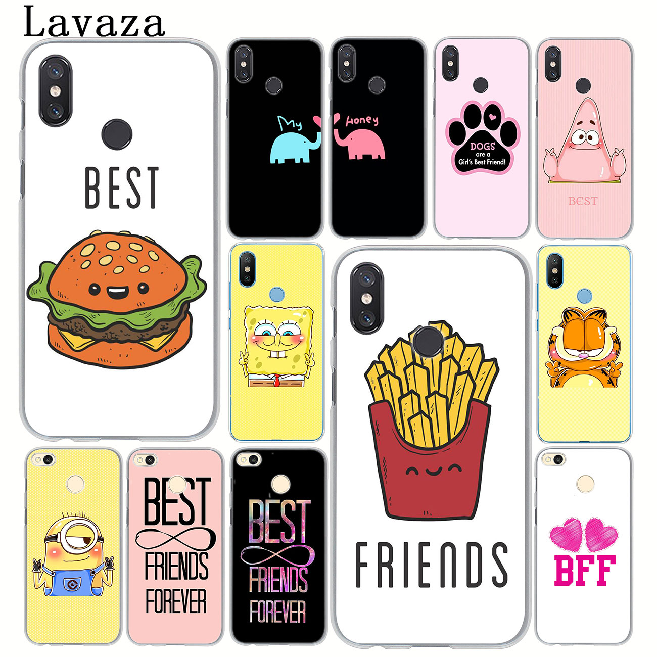 Lavaza Best Friends Girl Hard Phone Case for Xiaomi MI 9 9T A3 Pro CC9 CC9E 8 SE A2 Lite A1 pocophone f1 6 6X 5S 5X MAX 3 Cover image