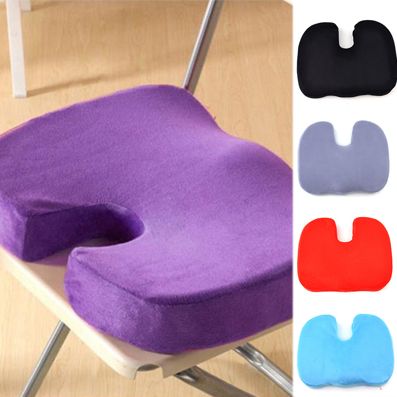 Hot Sale New Coccyx Orthopedic Memory Foam Seat Cushion For Chair Car  Office Home Bottom Seats