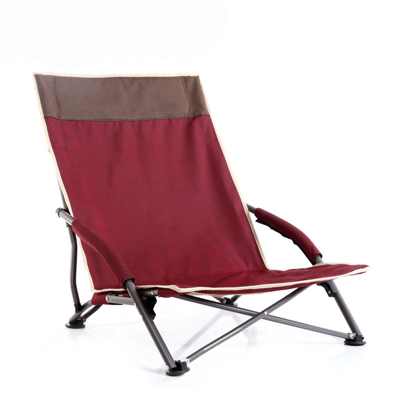 Manufacturer Supply Export Korea Leisure Outdoor Folding Chair Beach Chair Camping Fishing Chair