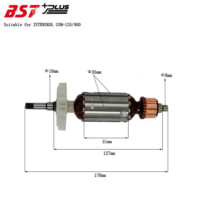 Máquina amoladora angular de 125 USM 125/115