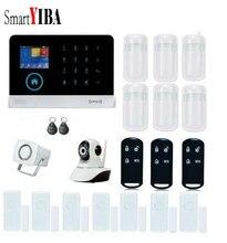 SmartYIBA WiFi GSM GPRS RFID Wireless Home Business Burglar Security font b Alarm b font System