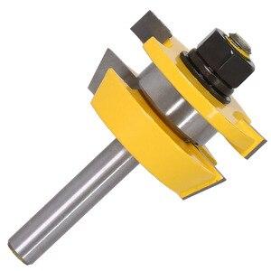 Image 3 - 2 PC 8mm Shank Đường Sắt & Stile Router Bit Set Shaker cửa dao Chế Biến Gỗ cắt Mộng Cutter cho chế biến gỗ Công Cụ