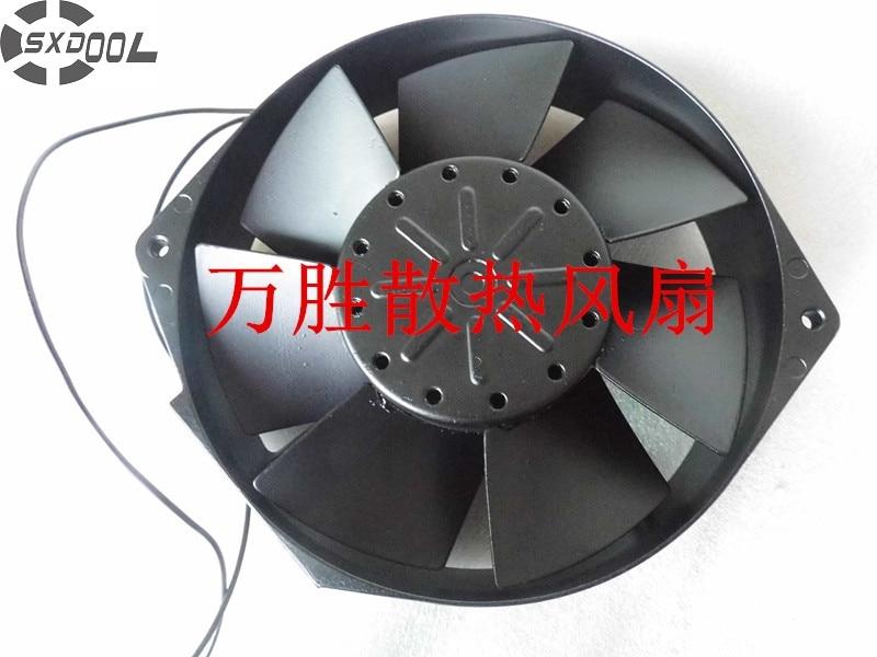 SXDOOL 16038 200 V 50/80 W S15D20-M completamente in metallo ad alta temperatura industriale ventola di raffreddamentoSXDOOL 16038 200 V 50/80 W S15D20-M completamente in metallo ad alta temperatura industriale ventola di raffreddamento