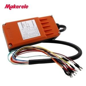 Image 4 - Makerele MKLTS 6 6 teclas de Controle industrial Controle Remoto transmissor + receptor 1 1 DC12V 24 V, AC36V 110 V 220 V 380 V
