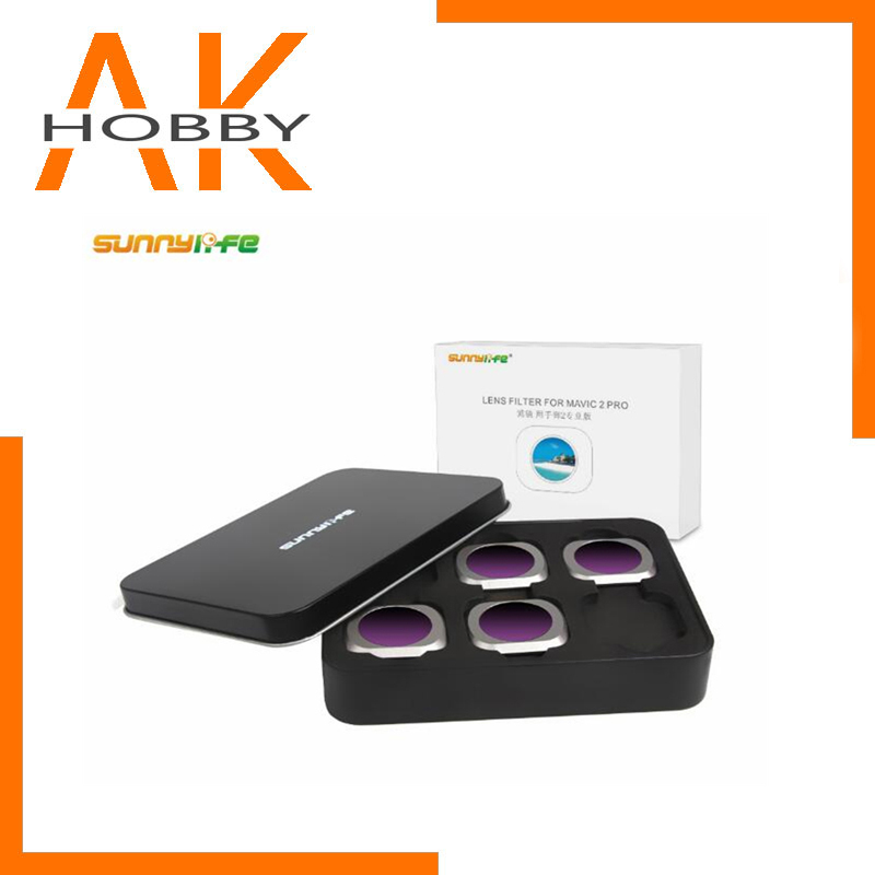 Sunnylife 4pcs set ND8-PL ND16-PL ND32-PL ND64-PL Lens Filter for DJI MAVIC 2 PRO Drone