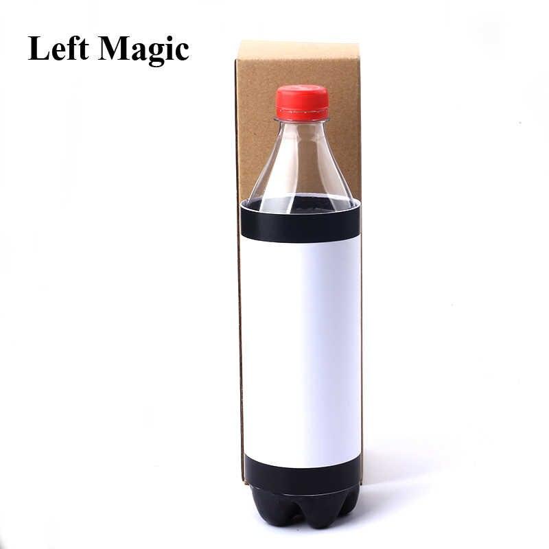 Новая исчезающая бутылка для напитков Волшебные трюки исчезновение Коул/колы бутылка реквизит для фокусов бутылка Магия закрыть иллюзии аксессуары