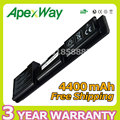 Apexway 4400mAh 11.1V 6 cells Laptop Battery For Dell Latitude D410 312-0314 312-0315 451-10234 Y5179 Y5180 Y6142