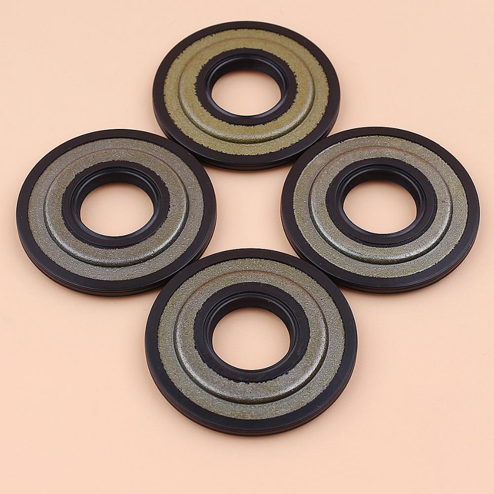 4Pcs/lot Crankshaft Oil Seal Sealing Cover Kit For Husqvarna 445 445e 450 450e Gas Chainsaw Spares 544013801