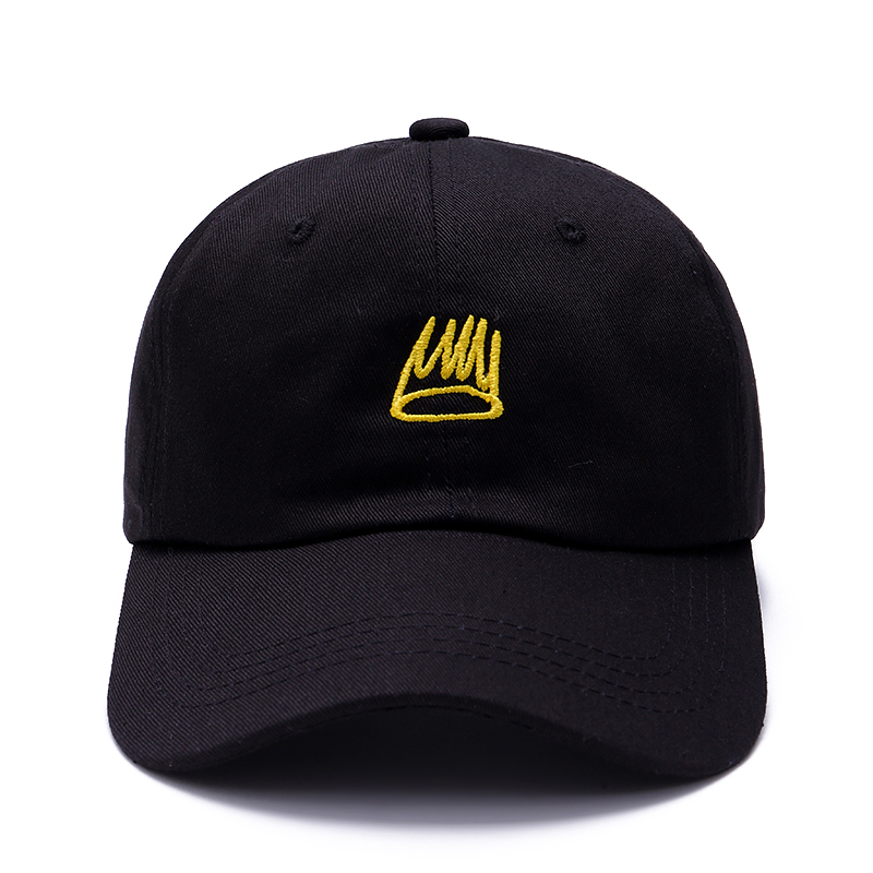 все цены на  VORON 2017 New Born Sinner Crown Dad Hat Tour Embroidery men women Adjustable Baseball Black Cap hats  в интернете