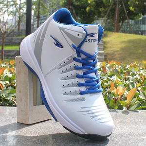 Image 5 - High top Basketball Shoes Mens Cushioning Light Basketball Sneakers Men Zapatos Hombre Breathable Outdoor Sports Shoes