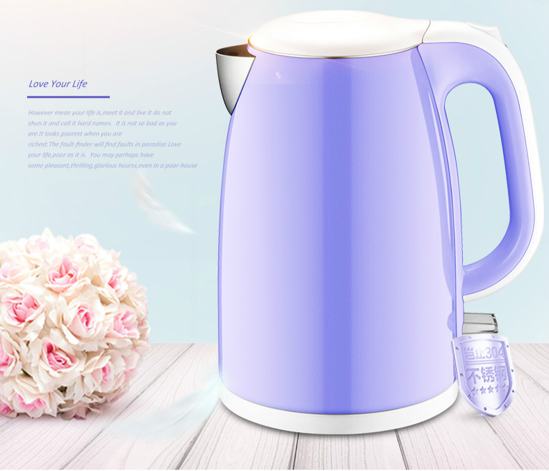 Electric kettle 304 stainless steel electric automatic power Safety Auto-Off Function цена и фото
